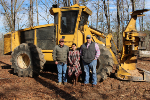 Southern Bancorp and the ASBTDC Help Client Purchase Logging Equipment