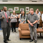 Reception for new and promoted faculty