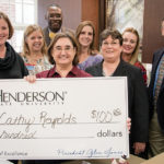 Reynolds receives staff excellence award