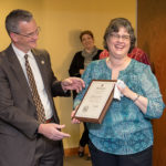 Taylor honored with retirement reception