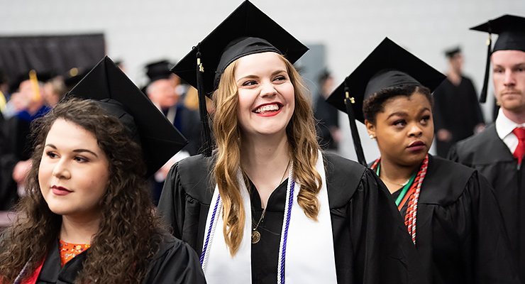 Henderson holds spring commencement