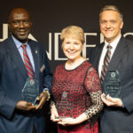 Business faculty honored at banquet