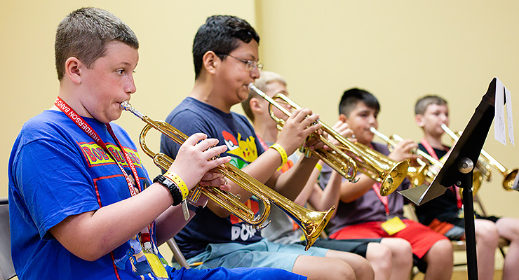 It's the season for summer camps at Henderson