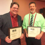 Taylor, Glover receive adviser awards at convention